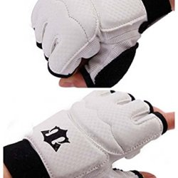 Best-Selling White High Quality Tae Kwon Do (Tkd) Fighting Sports Hand Protectors (M)