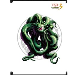 Marvel Vs Capcom 3 Shuma Gorath Game Fabric Wall Scroll Poster (32X42) Inches