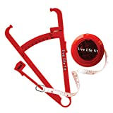 Fitlosophy Fit Tools Kit with Body Fat Calipers and Measuring Tape