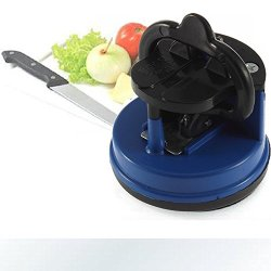Knife Sharpener Scissors Grinder Suction Chef Pad Kitchen Sharpening Tool