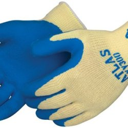 Best Showa Atlas Kv300 X-Large Kevlar Blue Latex Rubber Coated Cut Resistant Gloves 1 Pair
