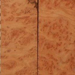 "Redwood Burl Eye (2 Pc) Knife Scales 1/4""X1 1/2""X5"" 801"