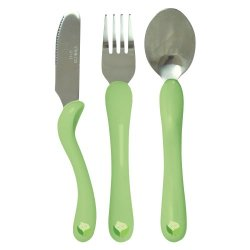 Green Sprouts Toddler Cutlery Set, Sage