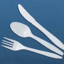 Medline Non042003 Plastic Knives, White (Case Of 1000)