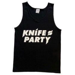 Rtgraphics Men'S Knife Party I Tank Top Medium Black