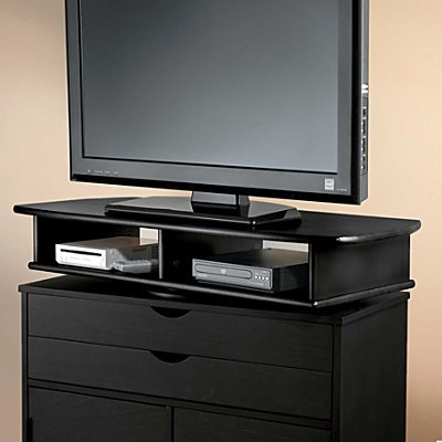 Image of Wide TV Swivel Stand - Dark Cherry - Improvements (398352 DCY)