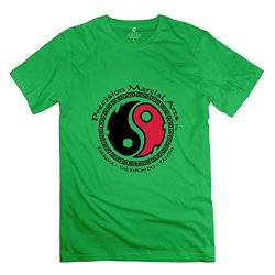 Man Precision Martial Arts Tshirts - Retro Custom Forestgreen T Shirt