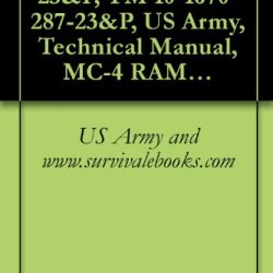 Tm 10-1670-287-23&P, Tm 10-1670-287-23&P, Us Army, Technical Manual, Mc-4 Ram Air Free-Fall Personnel Parachute System, Nsn 1670-01-306-2100, 2003