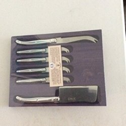 Laguiole Cheese Set 6 Piece Stainless