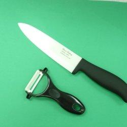 """Cherie Cutlery 8"""" Ceramic Chef Knife (Buy 1Pc. Ceramic Knife Get 1Pc. Free Ceramic Peeler)"""