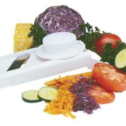 Norpro 7-In1 Fruit Vegetable Mandoline Slicer/Grater/Shredder W/ Guard New