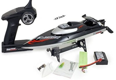 Top-Race-Remote-Control-RC-Boat-Speed-of-30-Mph-Auto-Flip-Recovery-24-Ghz-Transmitter-Professional-Series-TR-1200