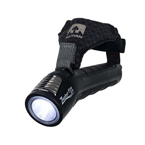 NATHAN Damen, Herren Taschenlampe LED schwarz Einheitsgröße