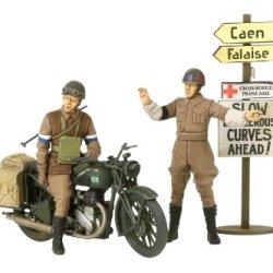 Tamiya 35316 1/35 British Bsa M20 Motorcycle W/Military Police