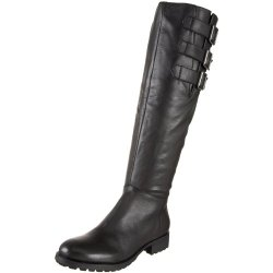 Kelsi Dagger Women'S Libby Knee High Biker Boot,Black,7.5 M Us
