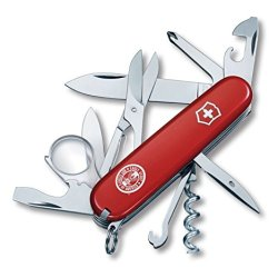 Victorinox 54782 Boy Scouts Bsa Explorer Swiss Army Knife, Eagle Scout, Red