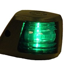 Aqua Signal Starboard Side Light Side Mount (Green)