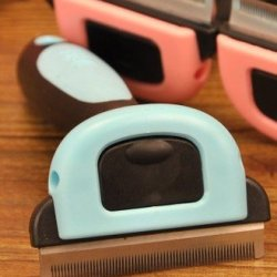 Pet Comb Hair Removal, Practical Replaceable Head And Give The Dog Dog Shaving Knife (L)