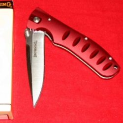 Browning Knife Ice Storm Dark Red