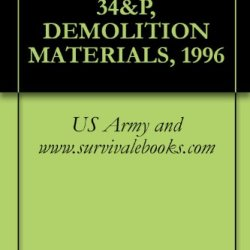 Tm 9-1375-213-34&P, Demolition Materials, 1996