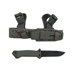 Lmf Ii, Infantry Green Handle, Serrated (Please See Item Detail In Description)