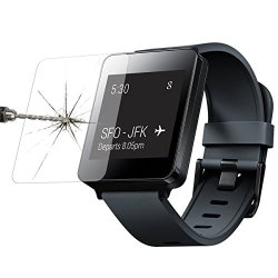Highest Quality Super-Hd Premium Tempered Glass Clear Screen Protector. (Lg G Watch)