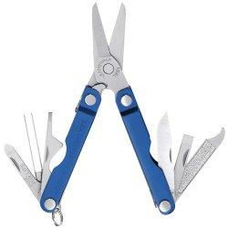 Leatherman 64340103K Micra  Series Keychain Multi-Tool, Blue