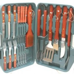 16 Piece Travel Barbecue Set By Chef'S Basics Select