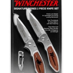 Winchester 31-000417 Signature Series, Two Piece Knife Set