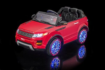 SPORTrax-Luxurious-Range-Rover-Style-Kids-Ride-On-SUV-Battery-Powered-Remote-Control-wFREE-MP3-Player-Red