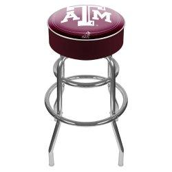 Texas A&M University Padded Bar Stool Texas A&M University Padded Bar Stool