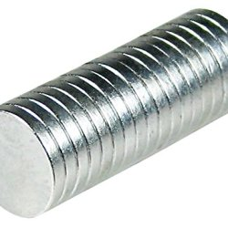 """Hipgirl 20Pc Strong Powerful Magnets, 1/2"""" X 1/16"""" Disc, N42"""