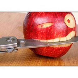 Hipster Iphone 5S Covers Carry Funny Apple Knife Pc 3D For Apple Iphone 5/5S