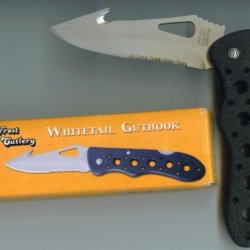Whitetail Guthook By Frost Cutlery