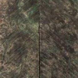 "Abalone Inlace Acrylester #41 2 Pc Mini Knife/Razor Scale 3/16""X1""X5"" 005"
