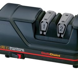 Chef'S Choice 316 Diamond Sharpener For Asian Knives, Red