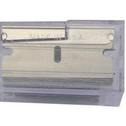 Stanley 11-515 1-1/2-Inch Single Edge Razor Blades (100-Pack)