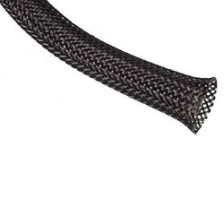 """3/4"""" Non-Fray Expandable Braided Sleeving - 250 Feet"""
