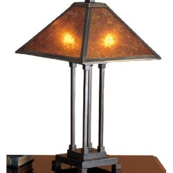 24 Inch H Mica Mission Table Lamp Table Lamps