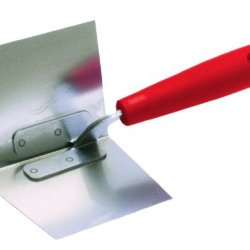 Qlt By Marshalltown 911 3-1/2-Inch By 4-1/2-Inch Inside Drywall Corner Trowel With Plastic Handle