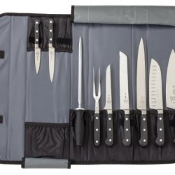 Mercer Culinary 10-Piece Forged Renaissance Knife Case Set