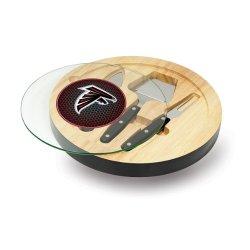 Nfl Atlanta Falcons Black Ventana Cheese Set