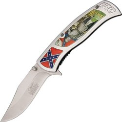 Master Usa Mc-A005Rl Mc Collection Fantasy Folding Knife, 4.5-Inch Closed