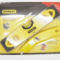 Stanley Magnetic Torpedo Level With Standley Retractable Utility Knife