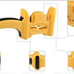 Gtopin Multipurpose Knife Sharpener Scissors Sharpener (Yellow)