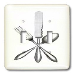 Lsp_174022_2 Florene - Vintage Ii - Image Of Knife Fork Spoon Vintage - Light Switch Covers - Double Toggle Switch