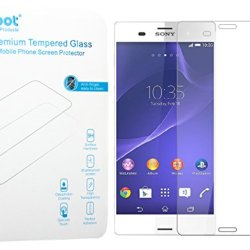 Sony Xperia Z3 Screen Protector - Noot® 0.33Mm Tempered Glass Crystal Clear L Slim L Anti Finger Print L Scratch Proof And Light Weight Screen Protector For [New] Sony Xperia Z3 | Not Compatible With Sony Z3V (Verizon) And Z3 Compact