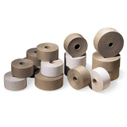 "Kraft Paper Tape - 3""X375' - 265 Grade - Heavy Duty-Grade Reinforced Tape - Kraft"