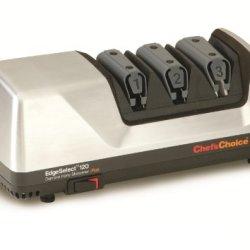 Chef'S Choice M120 Diamond Hone Knife Sharpener, Brushed Metal