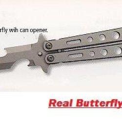Balisong Opener Tool-Silver